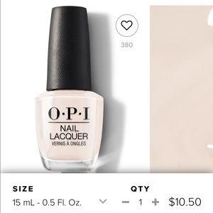 OPI (2) + 1 Base Coat Clear Nail Buff Nude White